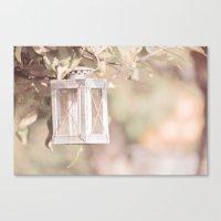 Pastel Lantern Canvas Print