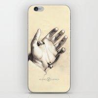 Pocket Pandas iPhone & iPod Skin
