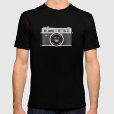 Yashica Electro 35 GSN SMALL Mens Fitted Tee Black