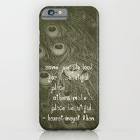Some people look for a beautiful place... iPhone 6 Slim Case