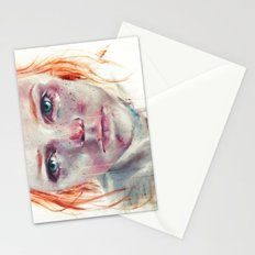 my eyes refuse to accept passive tears Stationery Cards