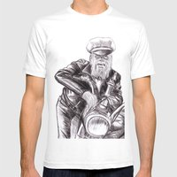 Wookie Wild One Mens Fitted Tee White SMALL