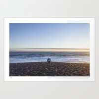 Sunset For Two Art Print