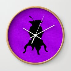Ye olde pot belly stove Wall Clock