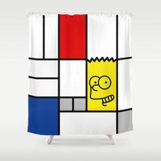 Art Simpson Shower Curtain