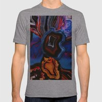 Agate, What Springs From… Mens Fitted Tee Athletic Grey SMALL