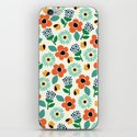 Floral Time iPhone & iPod Skin