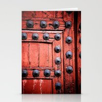 Doors Of The World 2 Stationery Cards