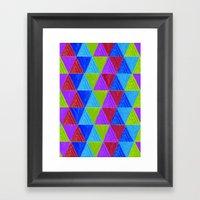 Aztec 5# Framed Art Print