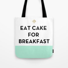Eat Cake for Breakfast - Kate Spade Inspired Tote Bag