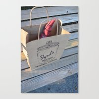 Gnome in the Cookie Bag Canvas Print