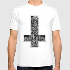 LADS execution Mens Fitted Tee White SMALL
