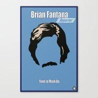 Brian Fantana: Reporter Canvas Print