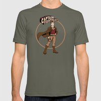 Captain Tightpants Mens Fitted Tee Lieutenant SMALL