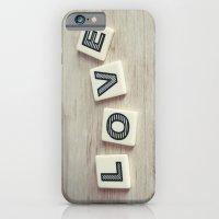 Letter Love iPhone 6 Slim Case