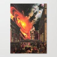 invocation Canvas Print