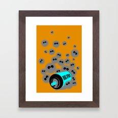 Pest Control Framed Art Print