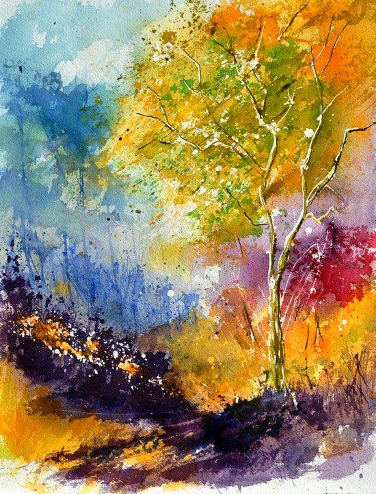 watercolor 213042 Art Print
