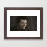 Drop Dead Fred Framed Art Print