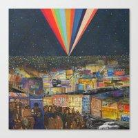 City at Night Canvas Print