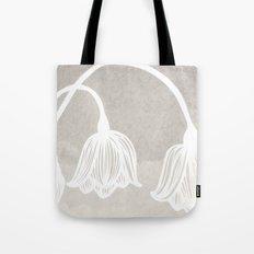 Sleepy Flowers Tote Bag