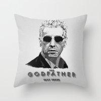 The Godfather - Part Three Throw Pillow