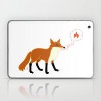 Fox With Pink Lips Laptop & iPad Skin
