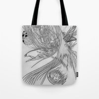 Fall Of Queen's City / O… Tote Bag