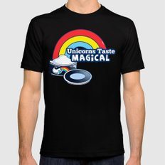 Magically Delicious SMALL Mens Fitted Tee Black