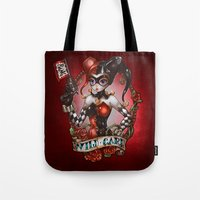 WILD CARD (blackout variant) Tote Bag