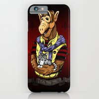iPhone & iPod Case featuring In Loving Memory of Fluffy by mark kowalchuk