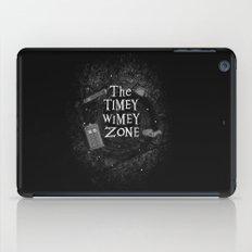 The Timey Wimey Zone iPad Case
