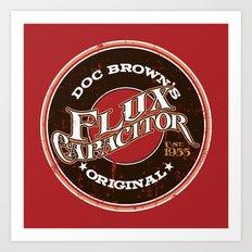 Doc's Original Flux Capacitor Art Print