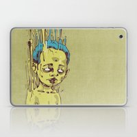 The Golden Boy with Blue Hair Laptop & iPad Skin