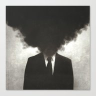 Confessions Of A Guilty … Canvas Print