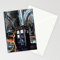 Doctor Who Art Painting Stationery Cards