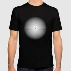 Fractal Snowball Mens Fitted Tee Black SMALL