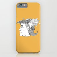 iPhone Cases featuring Dragon Knight Head by RIPrint