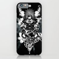 iPhone & iPod Case featuring Orchids & Diamonds by Zippora Lux