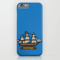 iPhone & iPod Case featuring Anchor Pixel by Eric A. Palmer