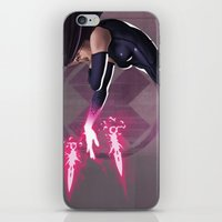 Psylocke iPhone & iPod Skin