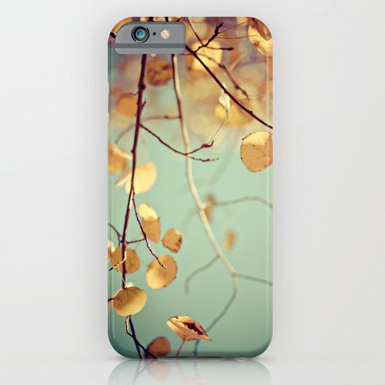 golden aspen iPhone & iPod Case