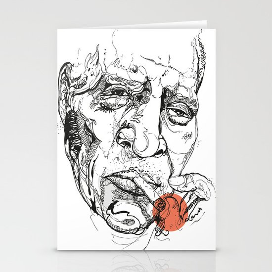 Howlin' Wolf - Get your Howl! Stationery Card