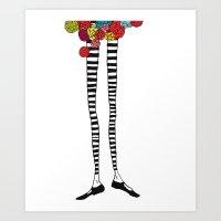 Skinny Legs Art Print
