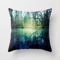 Enchantment Of Everaft Throw Pillow