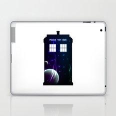 Space in TARDIS Laptop & iPad Skin