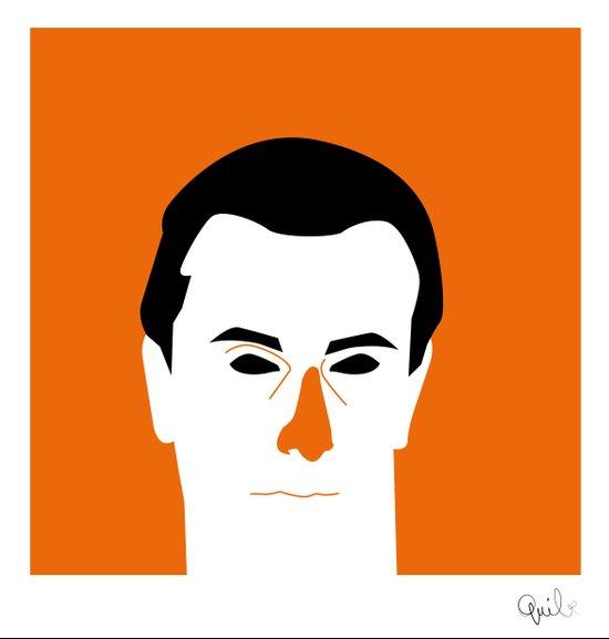 Mr Orange Canvas Print