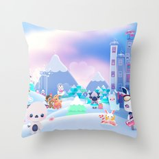 Best Xmas ever Throw Pillow