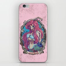 Zombie Little Mermaid iPhone & iPod Skin