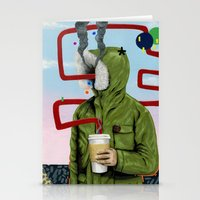 Caffeine Boost Stationery Cards